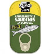Tropical Sun Canadian Sardines in Olive Oil 106g