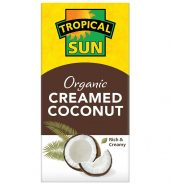 Tropical Sun Organic Creamed Coconut 200g
