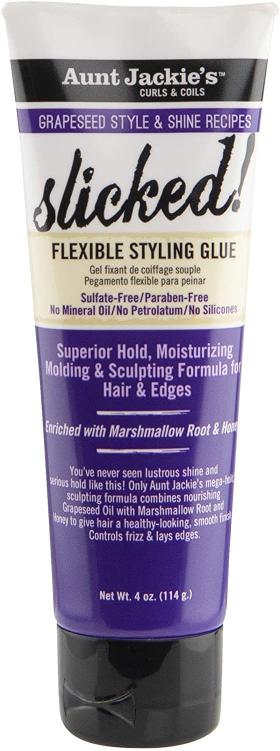 Aunt Jackies Grapeseed Slicked Styling Glue 4oz