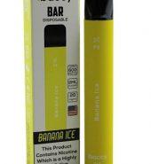 iBACCY Disposable Bar Banana Ice 600 puffs 2% Nicotine