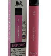 iBACCY Disposable Bar Bubblegum 600 puffs 2% Nicotine