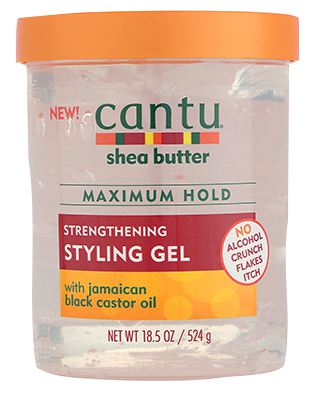 Cantu Strengthening Styling Gel infused with Jamaica Black Castor Oil 18.5oz