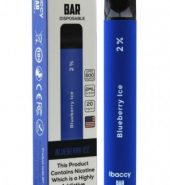 iBACCY Disposable Bar Blueberry Ice 600 puffs 2% Nicotine (Copy)