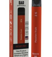 iBACCY Disposable Bar Passion Fruit 600 puffs 2% Nicotine