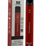 iBACCY Disposable Bar Strawberry 600 puffs 2% Nicotine