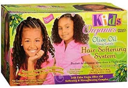 Africas Best Kids Organics Olive Oil Softening System Kit