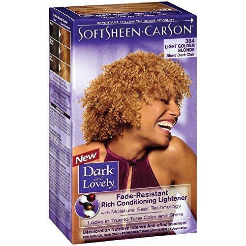 Dark & Lovely Hair Dye Golden Blonde #384