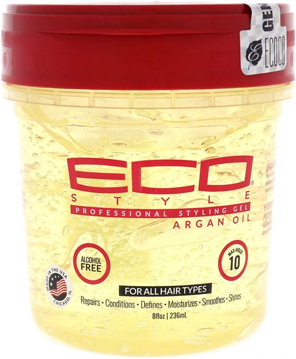 Eco Styler Moroccan Argan Oil Styling Gel 8oz