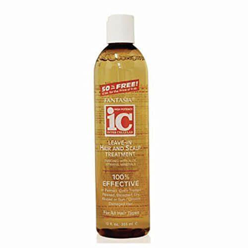 IC Fantasia Leave in Moisturiser Hair & Scalp Treatment 12oz