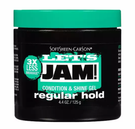 Lets Jam! Shining & Conditioning Gel Regular Hold 4.4 oz