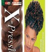 X Pression Premium Original Ultra Braid. Colour 4 – Medium Brown