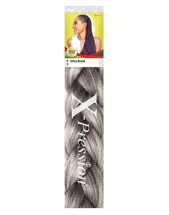 X Pression Premium Original Ultra Braid. Colour Grey