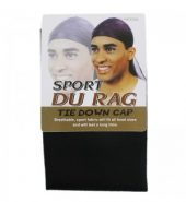 Sport Durags – Tie Down Cap – Black