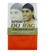 Sport Durags – Tie Down Cap – Orange