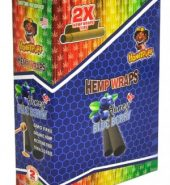 HoneyPuff Flavoured H-Wraps – Blueberry (Pack Of 2)