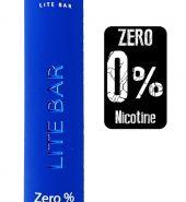 LITE Bar Disposable Pod Kit 600 puffs Zero Nicotine – Blue Razz