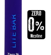 LITE Bar Disposable Pod Kit 600 puffs Zero Nicotine – Blueberry Ice