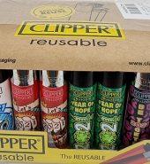 Clipper Assorted Hope 2021 Printed Flint Lighter 40pcs
