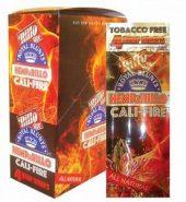 Royal Blunts 'Rillo Size Hemp Wraps – CALI FIRE (Pack Of 4)