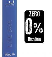 LITE Bar Disposable Pod Kit 600 puffs Zero Nicotine – Energy Drink