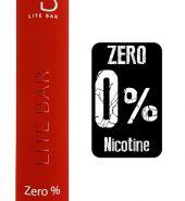 LITE Bar Disposable Pod Kit 600 puffs Zero Nicotine – Sweet Strawberry