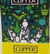 CLIPPER Combi Kingsize Slim Papers + Tips Weed Design 12 packs