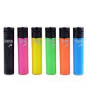 Clipper Assorted Colour Jet Flame Lighter x 24pcs