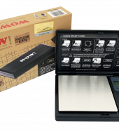 WOW pocket Digital Scale – 200 grams & increments of 0.01g Black